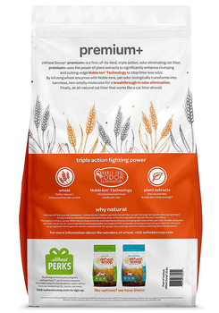 Wheat-Based Premium+ Fast Clumping Biodegradable and Flushable Cat Litter