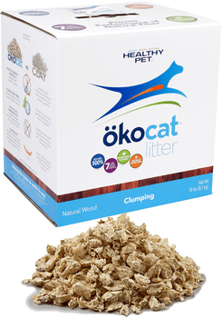 Wood-Based Clumping Cat Litter