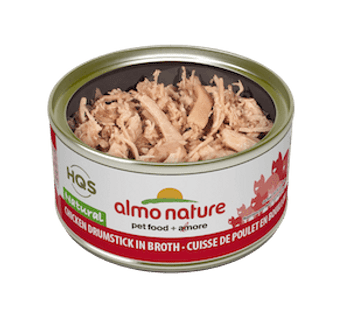 Natural Chicken Drumstick In Broth Canned Cat Food