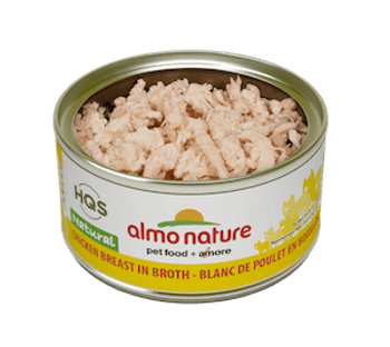 Natural Chicken Breast In Broth Canned Cat Food