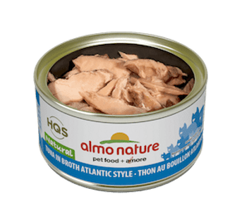 Natural Atlantic Tuna In Broth Canned Cat Food
