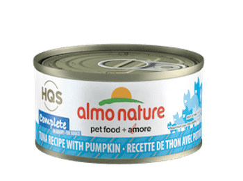 Complete Tuna With Pumpkin In Gravy Canned Cat Food, 70g, Case of 24