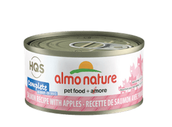 Complete Salmon With Apple In Gravy Canned Cat Food, 70g, Case of 24