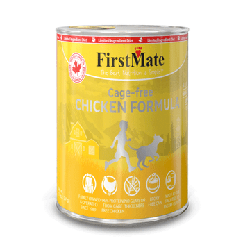 Limited Ingredient Cage Free Chicken Canned Food For Dogs & Cats
