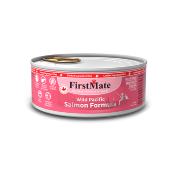 Limited Ingredient Wild Salmon Canned Food For Dogs & Cats