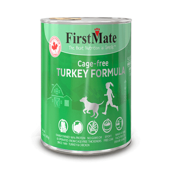 Cage Free Turkey Canned Food For Dogs & Cats