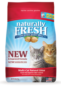 Walnut-Based MultiCat Clumping Litter