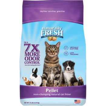 Walnut-Based Pellet Non-Clumping Litter