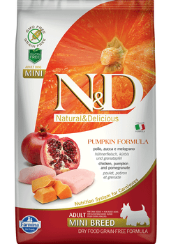 Pumpkin Formula Chicken & Pomegranate Small Breed Dry Dog Food