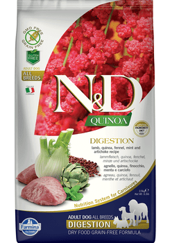 Quinoa Digestion Formula Lamb Dry Dog Food