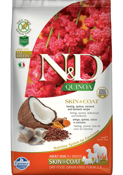 Quinoa Skin & Coat Formula Wild Herring Dry Dog Food