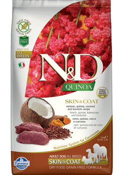 Quinoa Skin & Coat Formula Venison Dry Dog Food