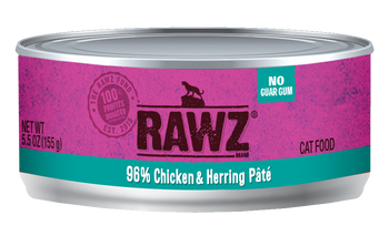 96% Chicken & Herring Canned Cat Food Pâté, 5.5oz