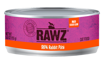 96% Rabbit Canned Cat Food Pâté, 5.5oz