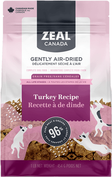 Gently Air-Dried Turkey Dog Food