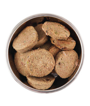 Hormone-Free Beef Raw Dog Food, 3lb, 48 x 1oz Medallions