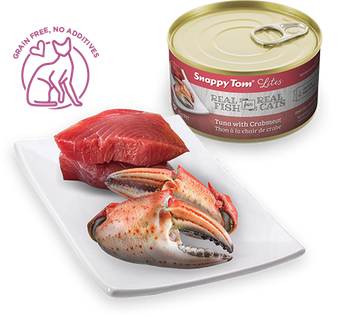 Tuna With Crabmeat Canned Cat Food