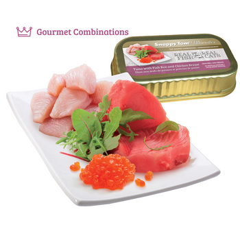 Tuna with Fish Roe and Chicken Canned Cat Food, 85g