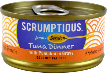 Red Meat Tuna With Pumpkin In Gravy Canned Cat Food