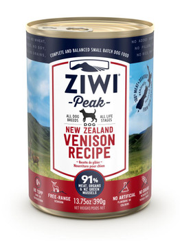Venison Canned Dog Food, 390g