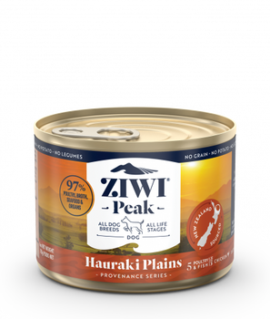 Hauraki Plains Recipe Canned Dog Food with Chicken, Duck, Turkey and Fish, 170g, Case of 12