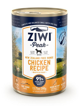 Free-Range Chicken Canned Dog Food, 390g, Case of 12