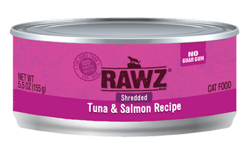 Shredded Tuna & Salmon Canned Cat Food, 5.5oz