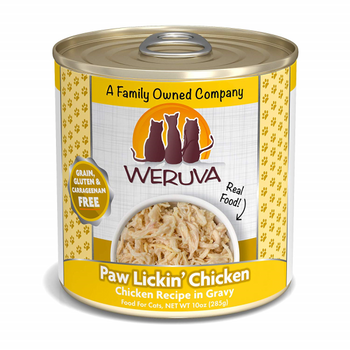 Paw Lickin' Chicken in Gravy Canned Cat Food, 10oz