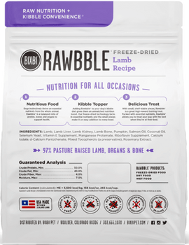 New Zealand Lamb Freeze-Dried Dog Food