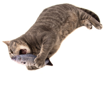 Catnip Mackerel Cat Cuddle Toy