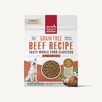 Honest Kitchen Grain Free Beef Whole Food Clusters