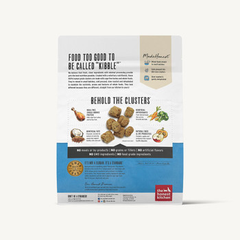 Honest Kitchen Grain Free Turkey Whole Food Clusters