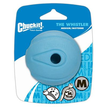 Whistle Ball Dog Toy