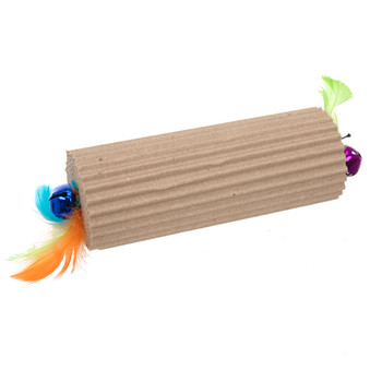 Corrugated Bell Bar Cat Toy