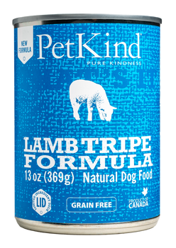 Lamb, Turkey & Lamb Tripe Canned Food For Dogs, 369g