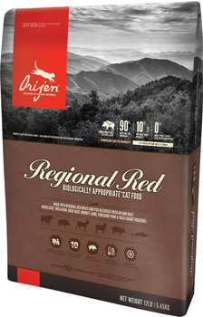 ORIJEN REGIONAL RED DRY CAT FOOD