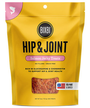 Hip & Joint Wild-Caught Salmon Jerky Functional Dog Treats