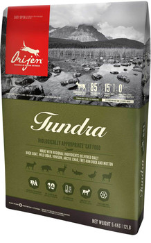 ORIJEN TUNDRA DRY CAT FOOD