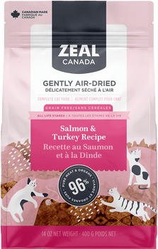 Gently Air-Dried Salmon and Turkey Cat Food