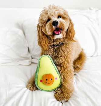 NomNomz® Avocado Plush Dog Toy