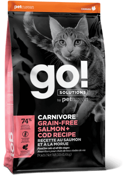 CARNIVORE Salmon + Cod Dry Food For Cats