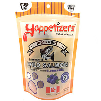 Dehydrated Salmon & Blueberries Dog Treat
