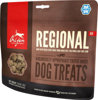 ORIJEN FREEZE-DRIED REGIONAL RED DOG TREATS