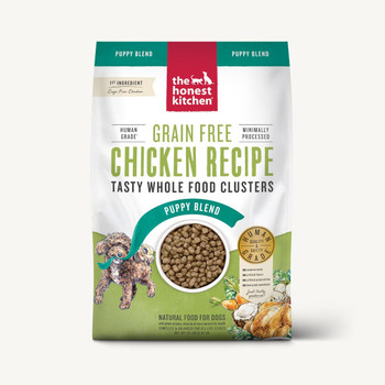 Honest Kitchen Grain Free Chicken Whole Food Clusters for Puppies