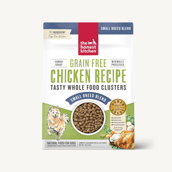 Honest Kitchen Grain Free Chicken Whole Food Clusters for Small Breeds
