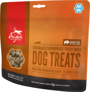 ORIJEN FREEZE-DRIED WILD BOAR DOG TREATS