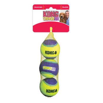 CrunchAir Tennis Ball Dog Toy