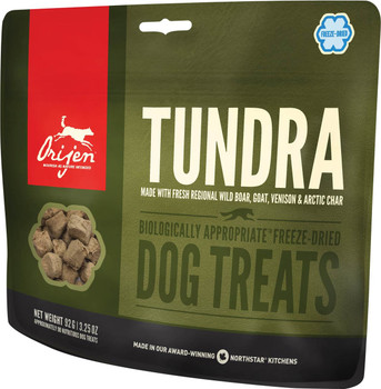 ORIJEN FREEZE-DRIED TUNDRA DOG TREATS