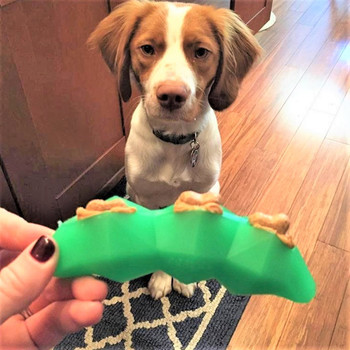 Green Bean Treat Dispensing Toy