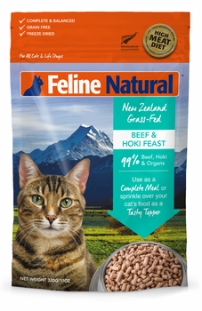 Beef & Hoki Feast Freeze Dried Topper for Cats